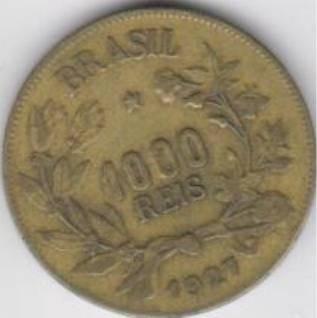 moeda 1000 reis 1927 ref. 130