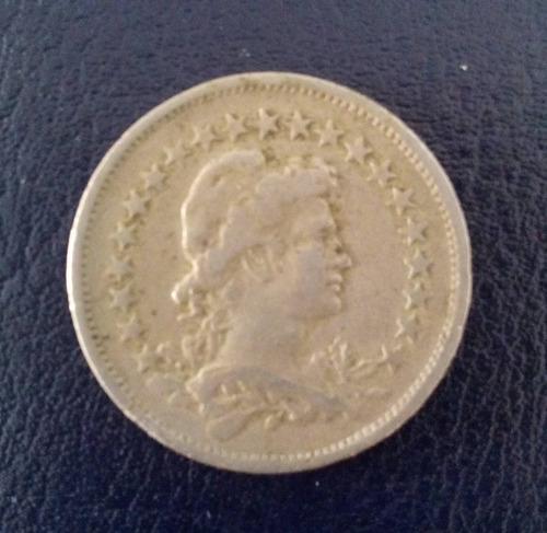 moeda 200 réis 1923 niquel