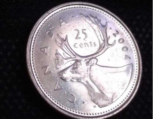 moeda 25 cents canada