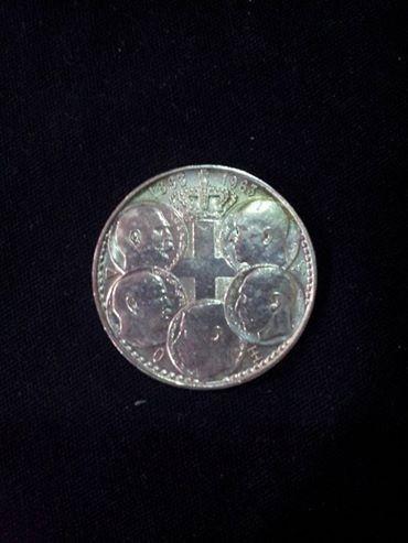 moeda 30 drachma grecia 1863-1963