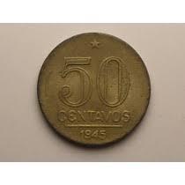 moeda 50 centavos 1945