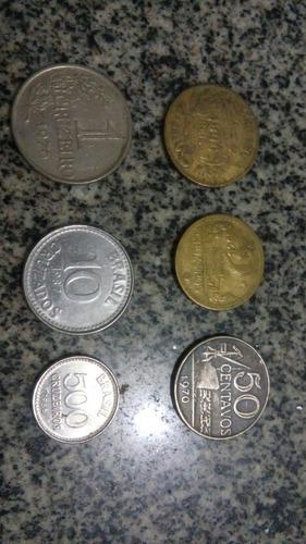moeda 50 centavos 1977 colecionador numismatica