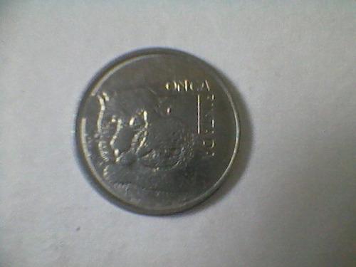 moeda 50 cr de 1993 - onça pintada