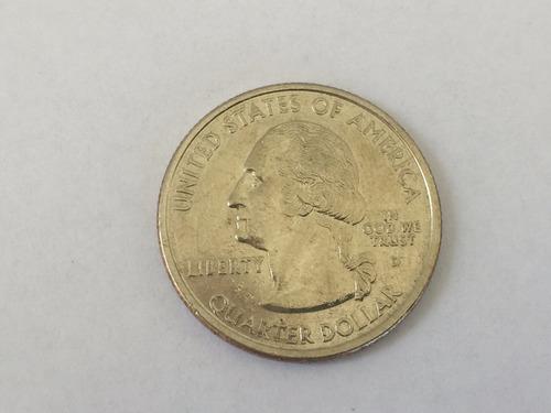 moeda americana serie quarter dollar massachusetts 2000 d