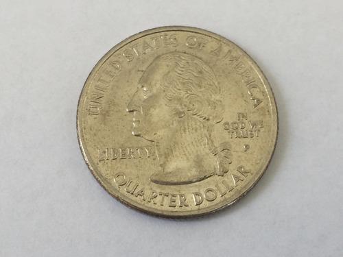 moeda americana serie quarter dollar north carolina 2001 p