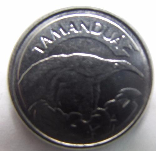 moeda antiga 10 cruzeiros reais -1994 - tamanduá - a6p2