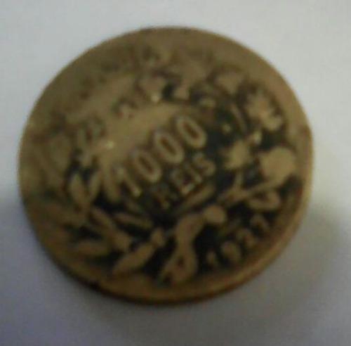 moeda antiga 1000 réis 1927