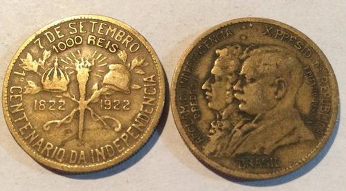 moeda antiga de 1000 reis 1922