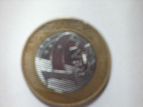 moeda antiga do aniversario do banco do brasil
