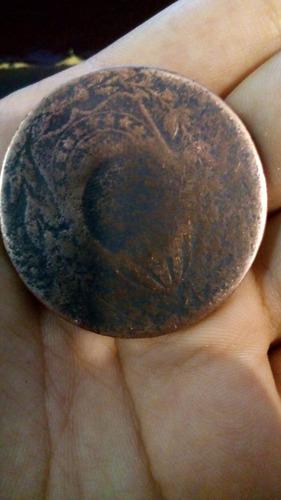 moeda antiga super rara 40 reis perfeita para colecionadores