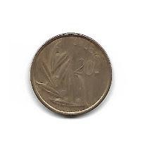 moeda belcique 20f