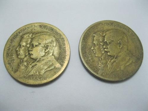 moeda brasil 1000 reis 1922 centenário da independência rara
