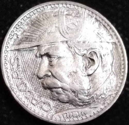 moeda brasil caxias prata