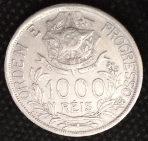 moeda brasil prata republica 1000 reis 1912