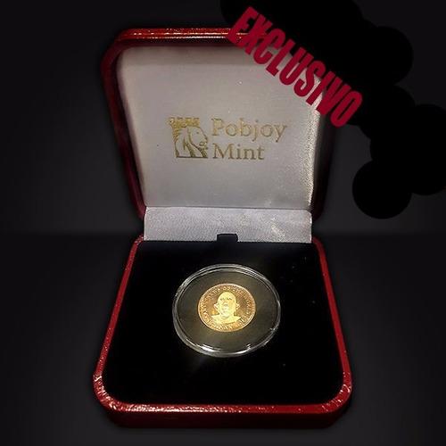 moeda brian may sixpence 2017 limited edition banhada a ouro