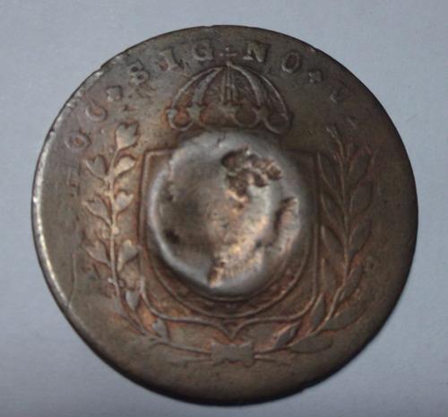 moeda com réis