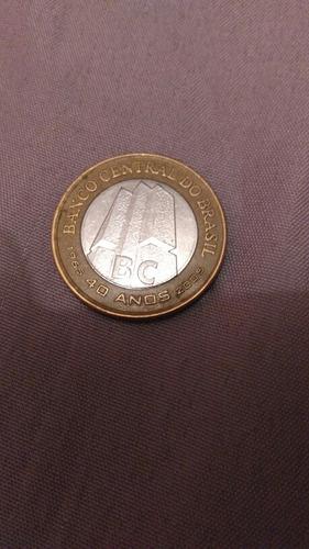 moeda comemorativa 40 anos bc