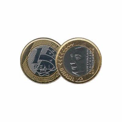 moeda comemorativa juscelino kubitschek jk