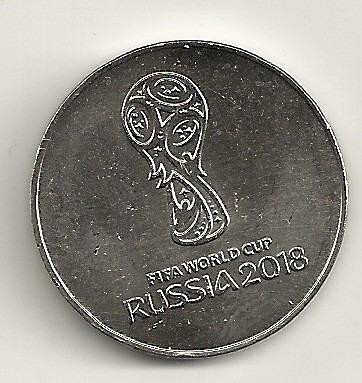 moeda da copa da russia 2018 - 25 rubros