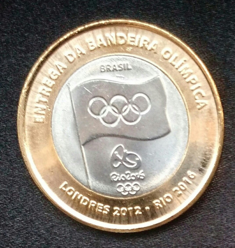 moeda da entrega da bandeira fc