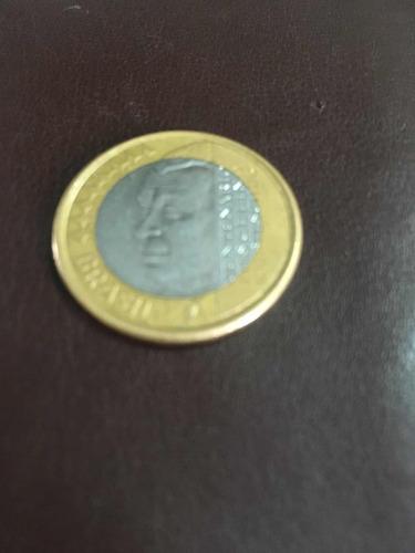 moeda de 1 real comemorativa juscelino kubitschek