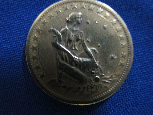 moeda de 1000 réis 1927 ( com sigla ).