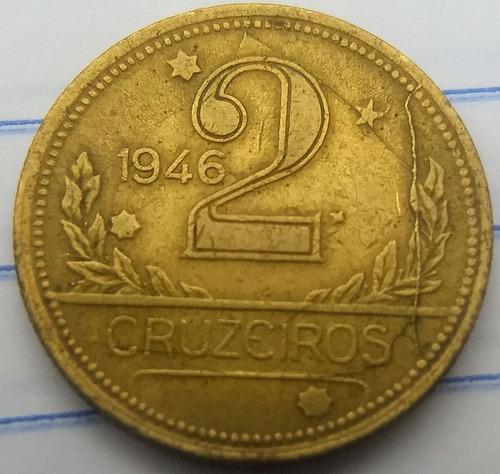 moeda de 2 cruzeiros