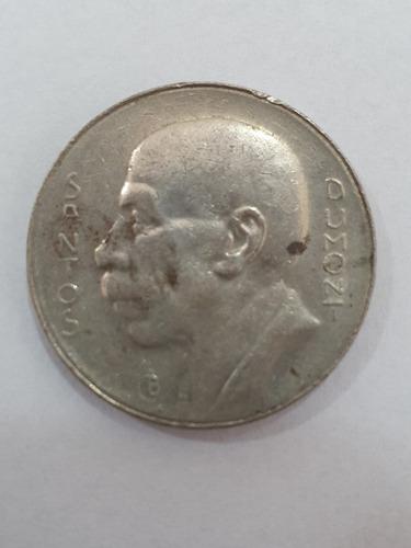 moeda de 5000 reis de 1938 - santos dumont