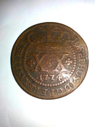 moeda de cobre de 1774