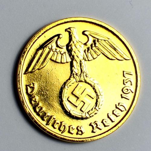 moeda de ouro 24 k alemana 1937