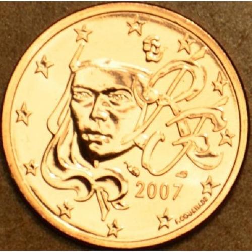 moeda de ouro 5 centimos euro francia 24 k