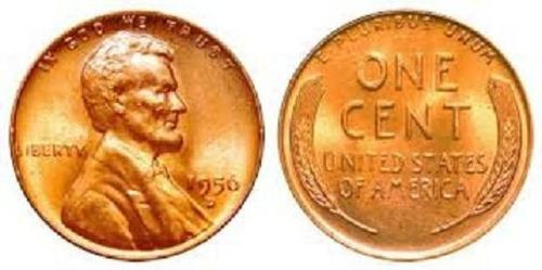 moeda de ouro de 1956 lincoln