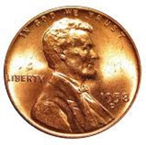 moeda de ouro de 1958 lincoln