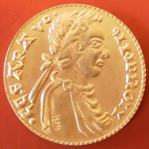 moeda de ouro frederico ii de italia