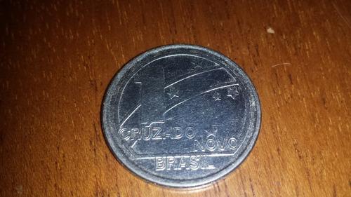 moeda de um cruzado novo.