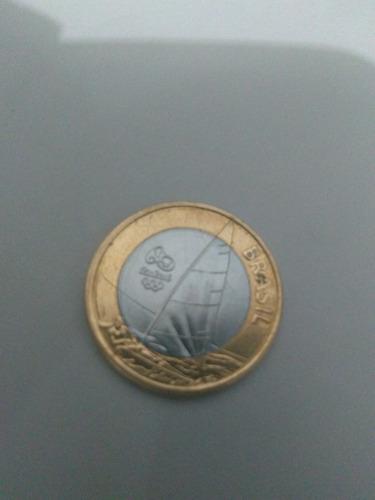 moeda de um real das olimpíadas 2016