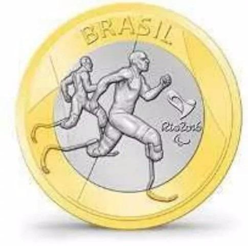 moeda do (atletismo paralímpico) soberba
