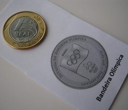 moeda entrega bandeira  olimpíadas f c (134)