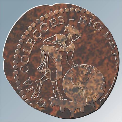 moeda escassa do brasil x l réis, 18 13 frete grátis