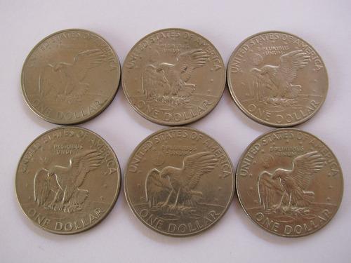 moeda estados unidos (37mm) - one dollar - 1 dolar