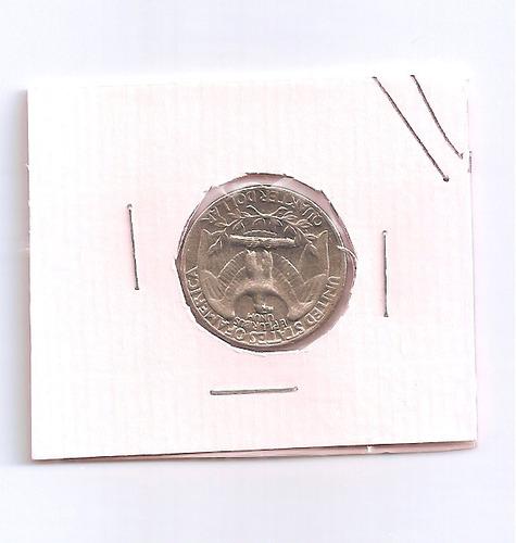 Moeda Estados Unidos- Quarter Dolar - 1966