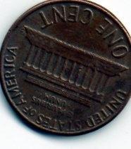 moeda eua 1 centavo 1967