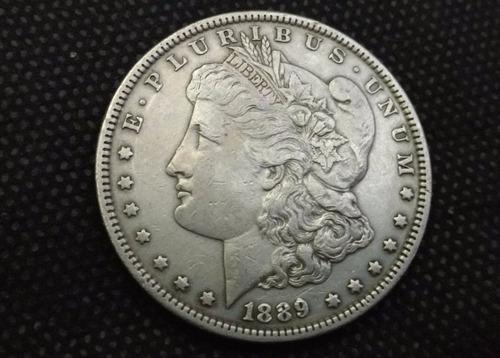 moeda eua one dollar morgan usa 1889
