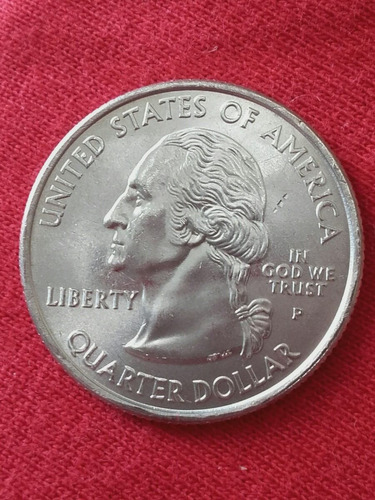 moeda fc usa quarter dollar estados americanos west virginia