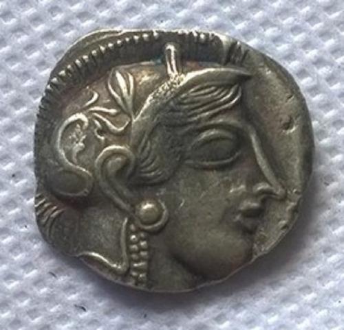 moeda grega dracma coleção réplica imperdível oportunidade