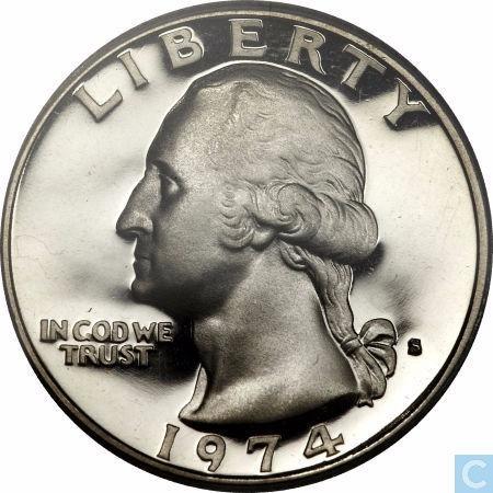 moéda: liberty ingodwe trust 1974