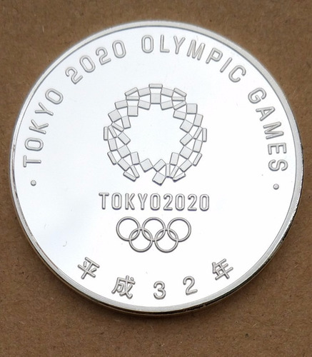 moeda medalha da bandeira olimpíadas rio 2016  tókio 2020