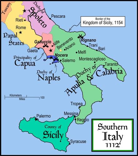 moeda medieval reino normando da sicília willian ii 1166-89