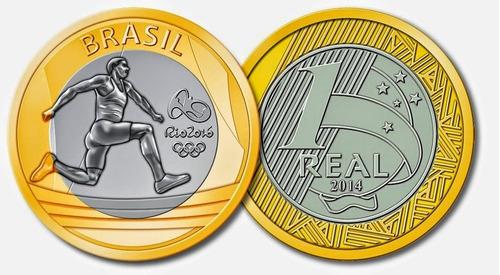 moeda olimpiadas 2016 atletismo salto