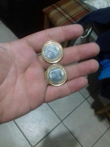 moeda olimpíadas bandeira 1,00